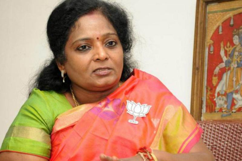 Tamilisai Soundararajan Tamil Nadu FIR