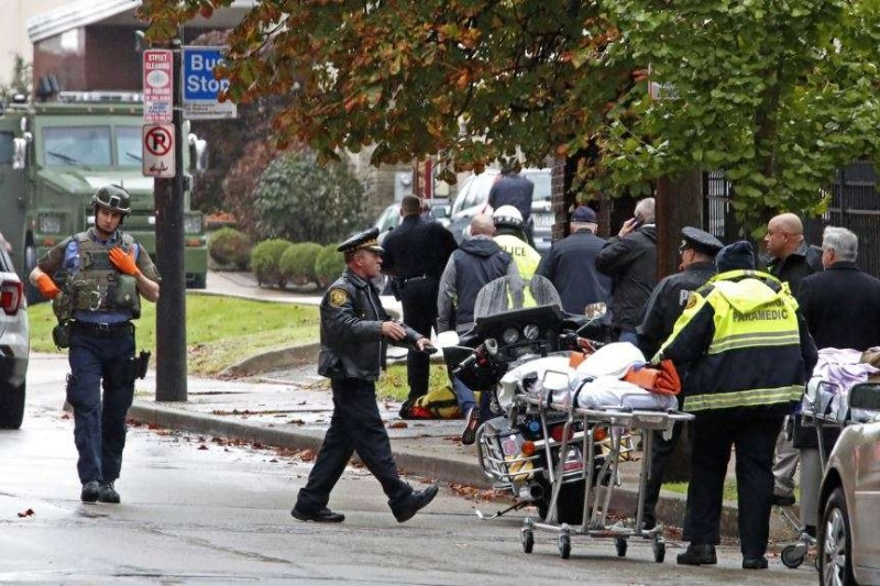Pittsburgh synagogue shooting incident
