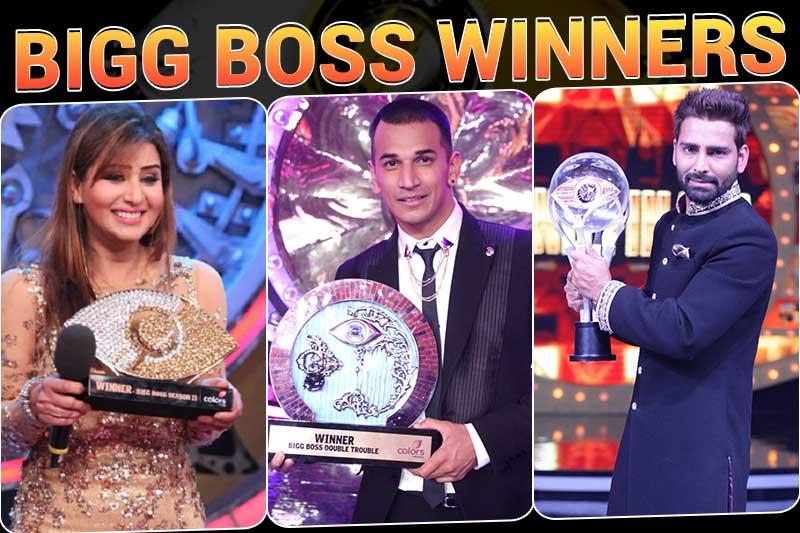 Bigg Boss winners all seasons