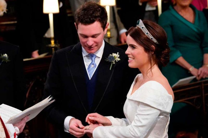 Princess Eugenie Jack Brooksbank royal wedding