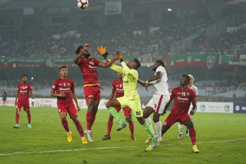 ILeague Spirited Churchill Brothers rout Mohun Bagan