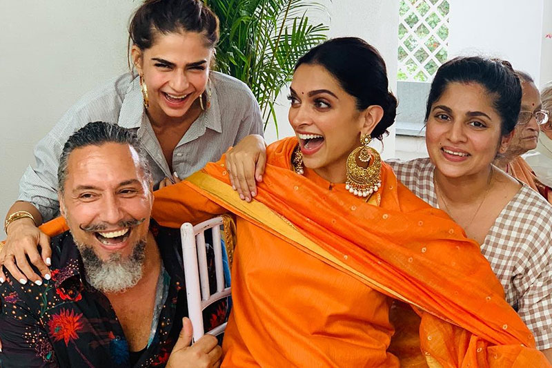 DeepVeer starts wedding celebrations with family puja