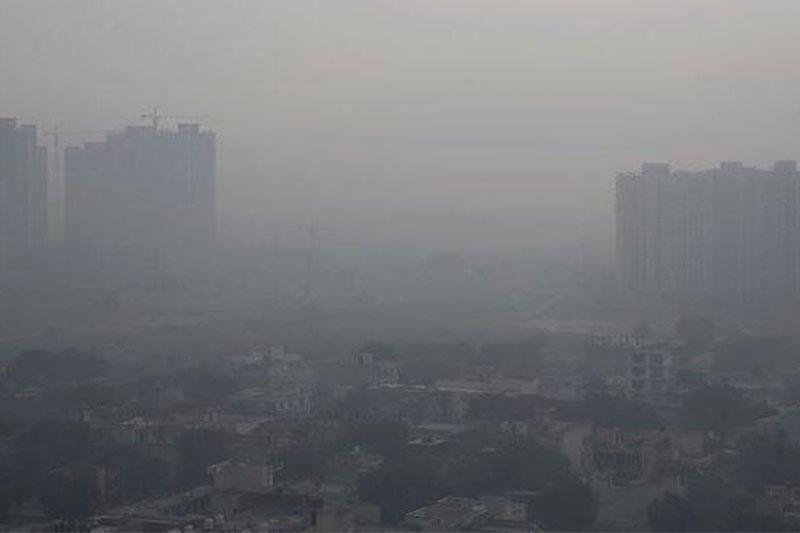 Delhi air quality index