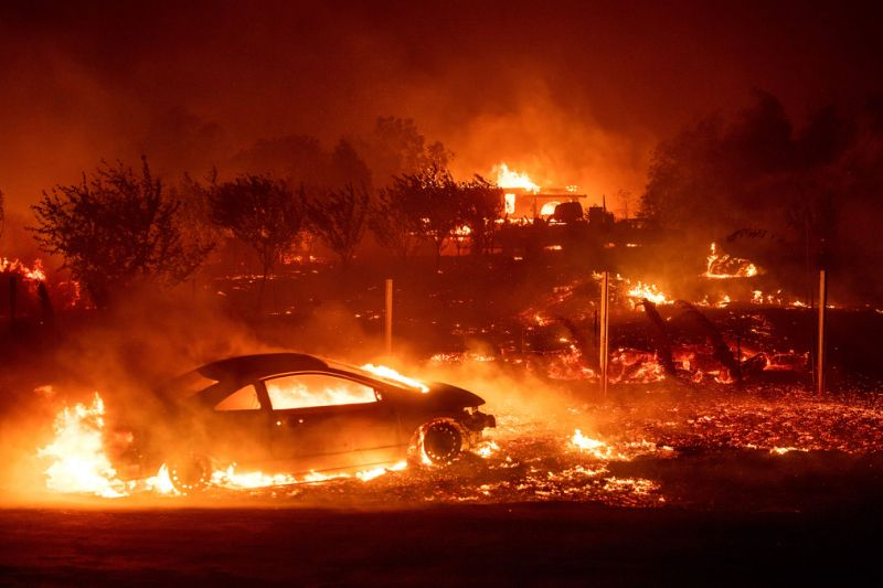 California wildfire turns deadly