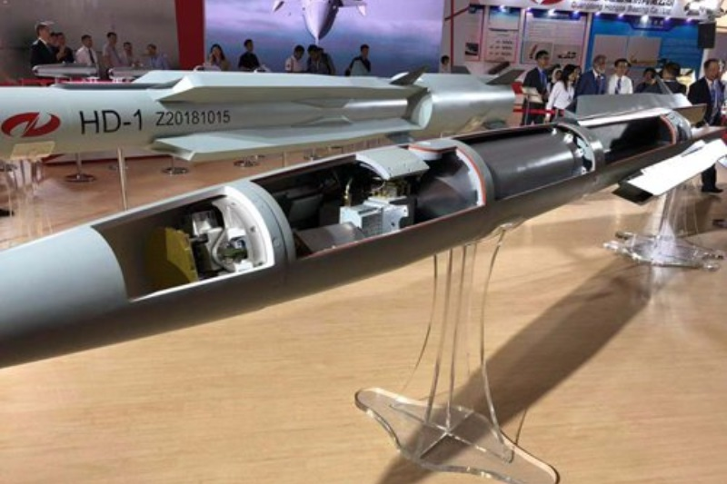 China supersonic cruise missile HD-1