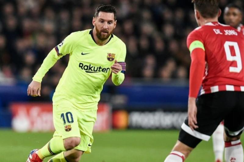 Champions League Lionel Messi scores Barcelona qualify Tottenham stay alive. (Libero)
