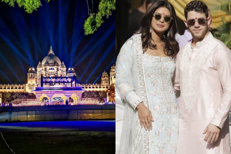 Priyanka Chopra and Nick Jonas take over Indian palace ahead of wedding
