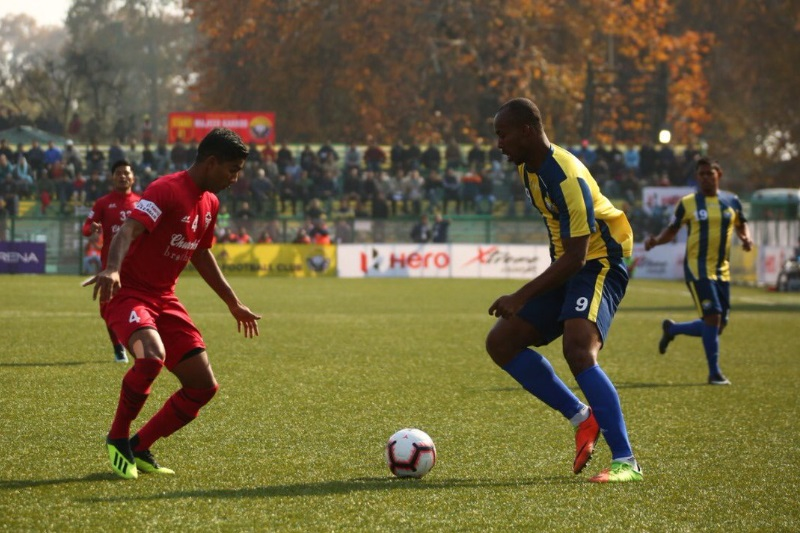 ILeague Churchill Brothers Real Kashmir goalless draw