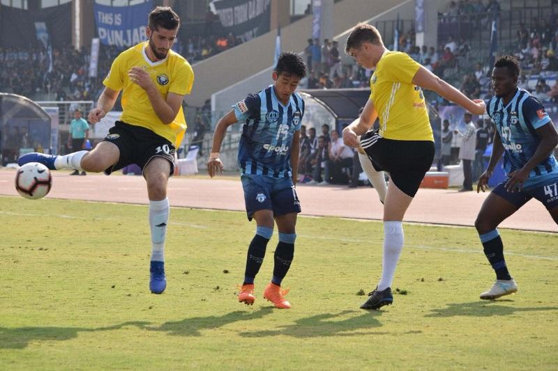 I-League debutants Real Kashmir shock Minerva Punjab