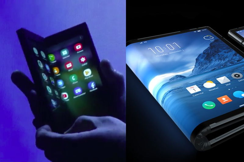 Samsung Launches foldable phone
