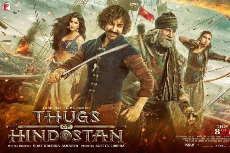 Thugs of Hindostan release