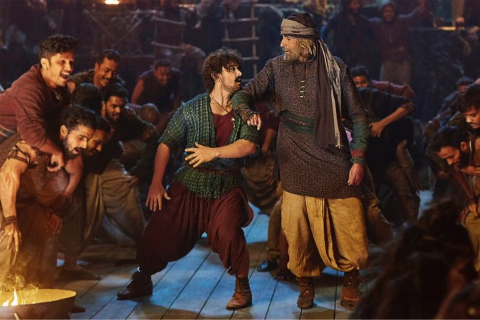 Thugs of Hindostan crashes on first weekday
