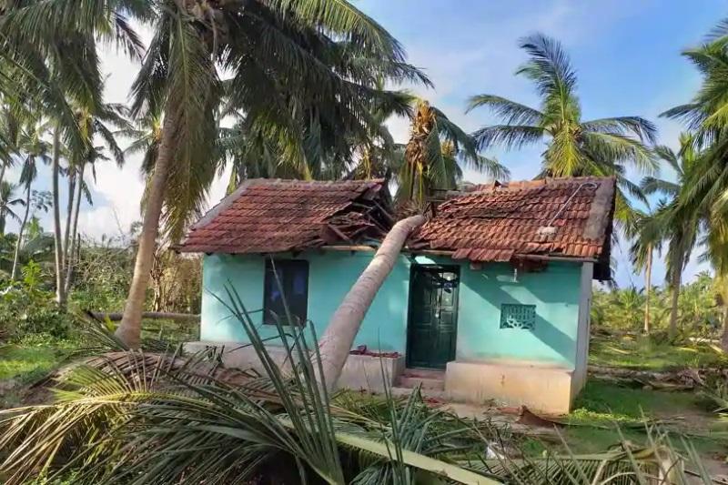 Cyclone Gaja Kerala government grant Rs 10 crore Tamil Nadu