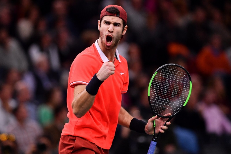 Paris Masters Karen Khachanov stuns Novak Djokovic final
