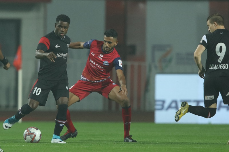 ISL 5 NorthEast United Jamshedpur FC play third barren draw