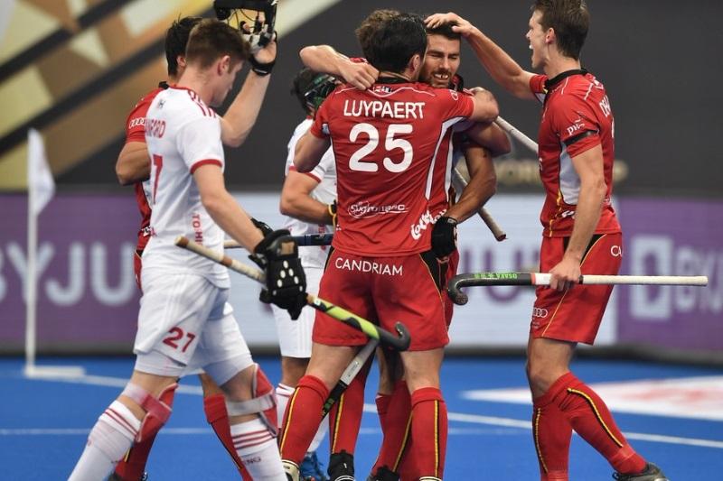Hockey World Cup Belgium pummel England 6-0 enter maiden final
