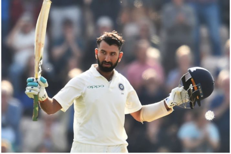 Cheteshwar Pujara ton boosts India in Adelaide Test against Australia