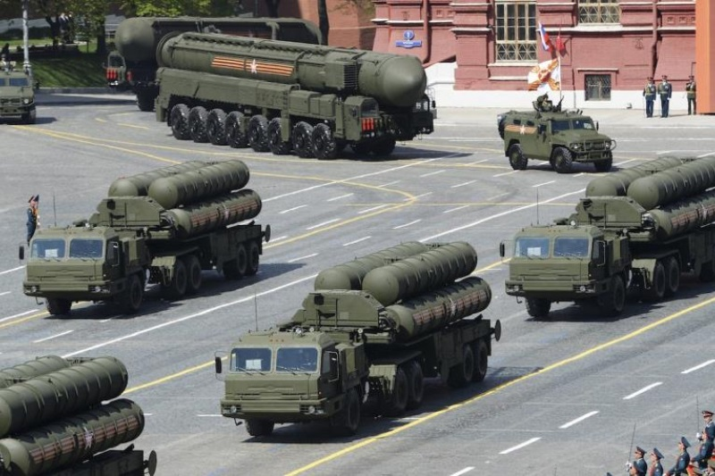 China test-fire S-400 missile