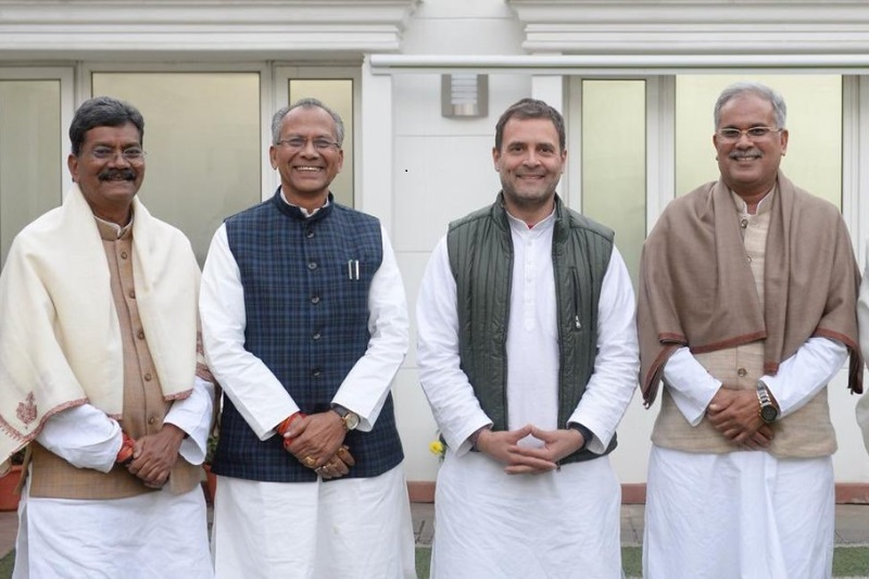 Congress Chief Declare Chhattisgarh CM