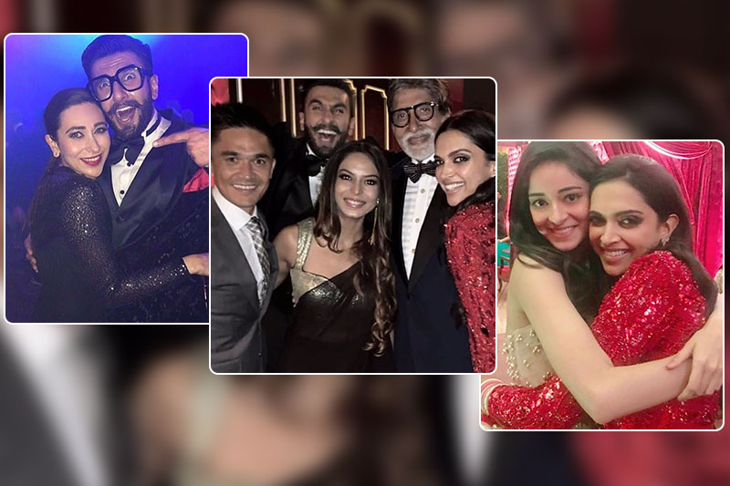 inside pics deepveer bollywood party