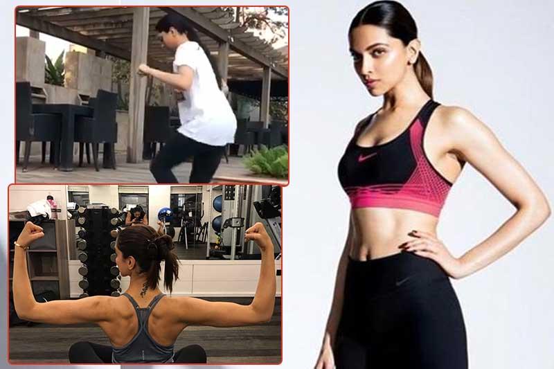 Deepika Padukone Latest Workout Video