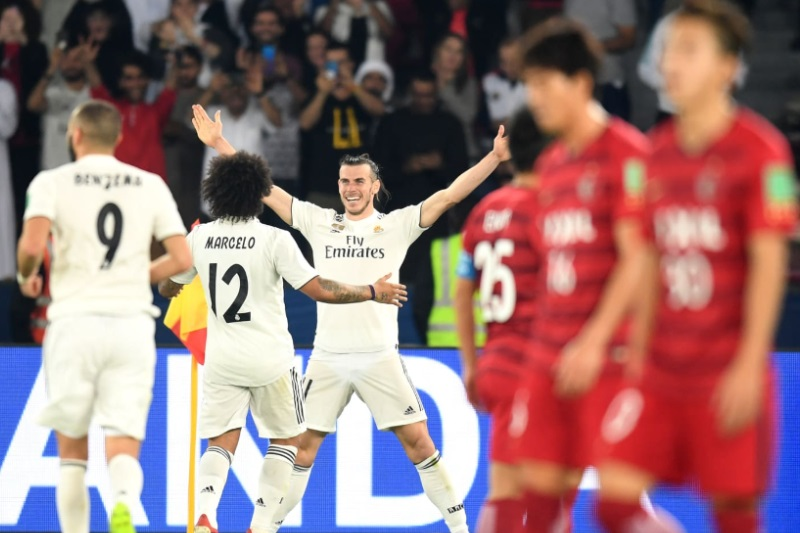Club WorldCup Gareth Bale hattrick Real Madrid Kamisha Antlers final