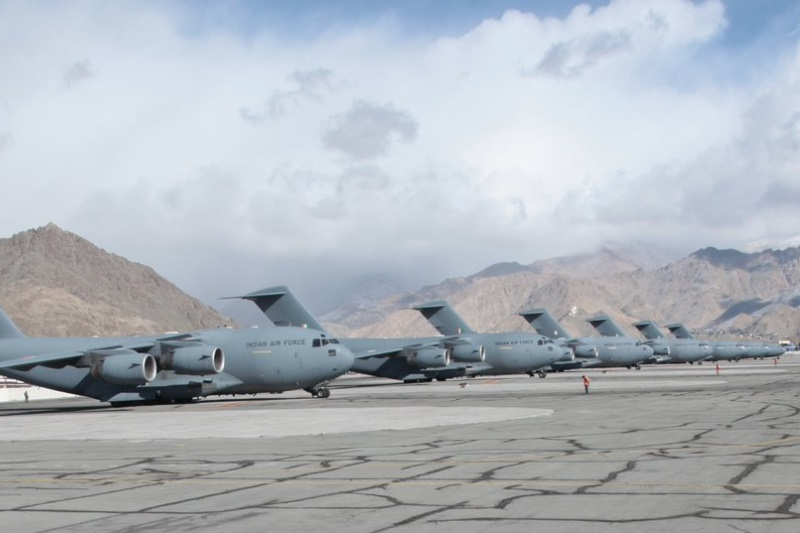 IAF airlifts 463 tonnes