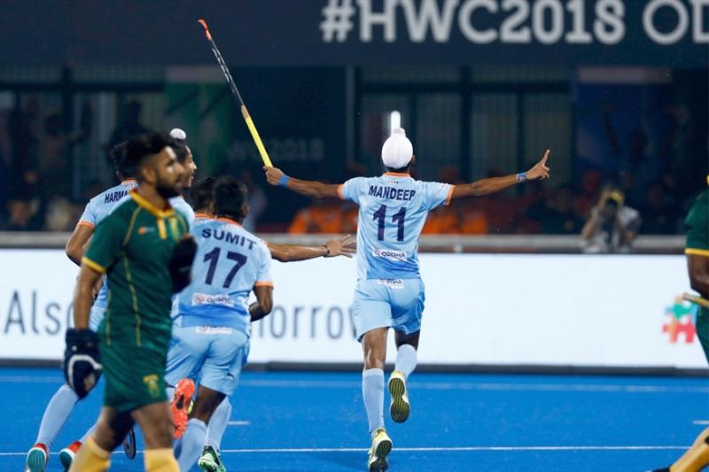 Hokey World Cup India needs carry momentum quarters Sardar Singh