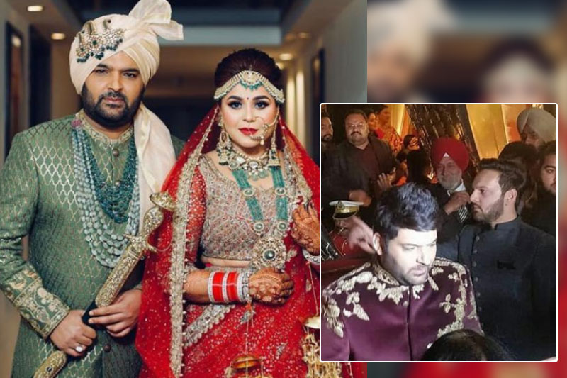 First Pics of Kapil Sharma and Ginni Chatrath's Wedding Reception