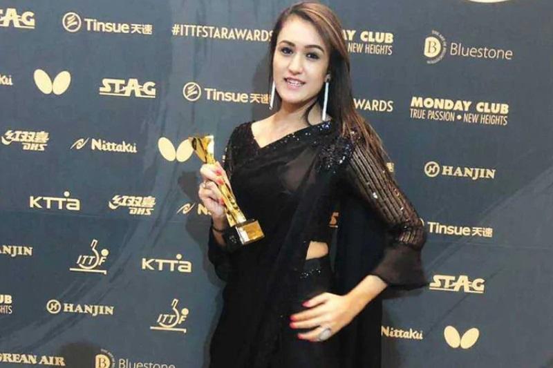Manika Batra first Indian win breakthrough Table Tennis Star Award