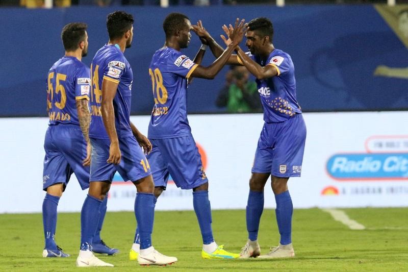 ISL 5 Mumbai beat Chennaiyin 2-0 climb second points table