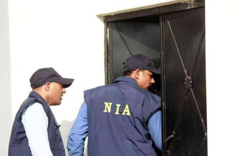 NIA searches in Delhi UP