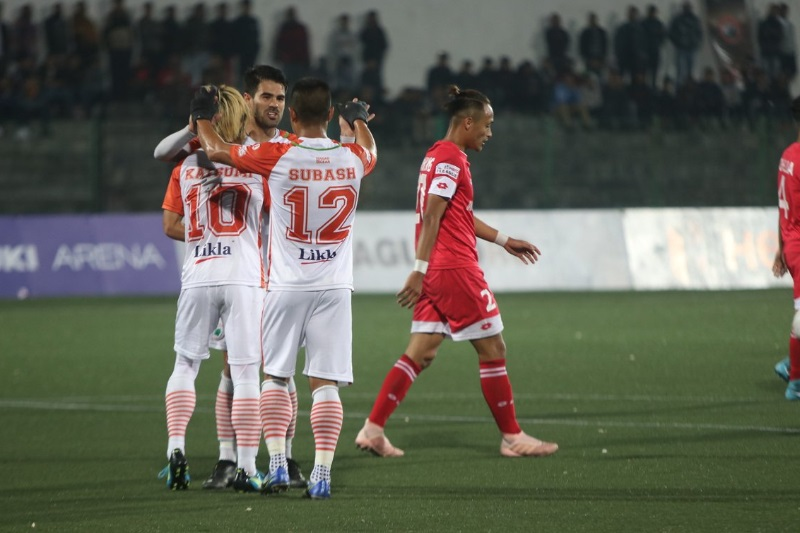 ILeague Neroca compound Shillong Lajongs woes 2-1 win