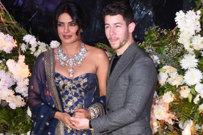 More stunning photos from Priyanka Chopra's wedding reception have been released