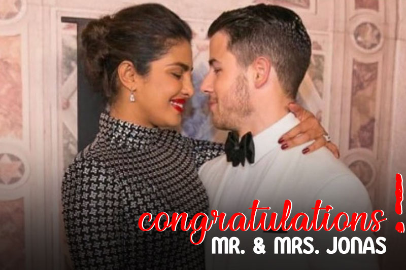 Priyanka, Nick Jonas tie the knot in Jodhpur