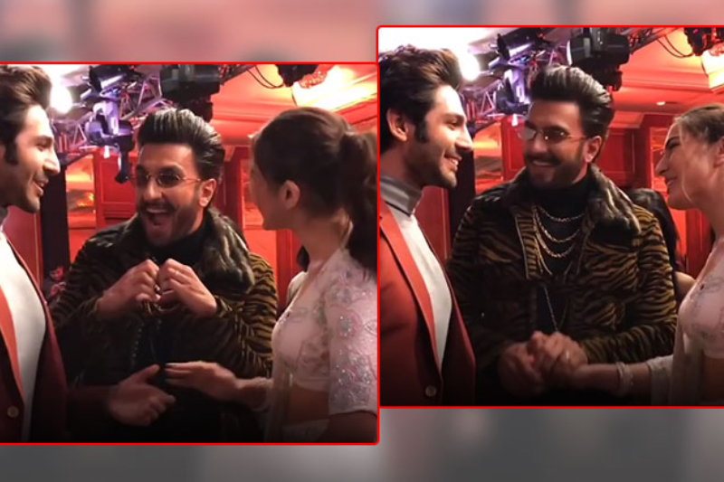 Ranveer Singh plays cupid for Sara Ali Khan, Kartik Aaryan