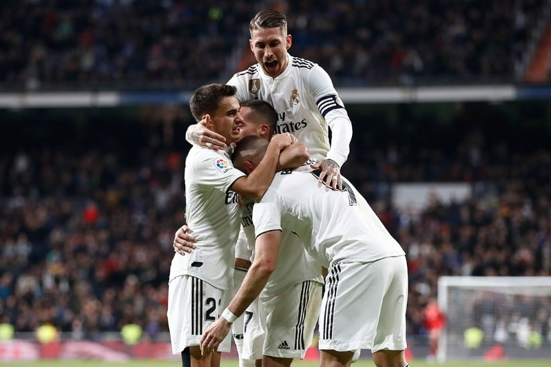 La Liga Real Madrid Lucas Vazquez winner beat Valencia