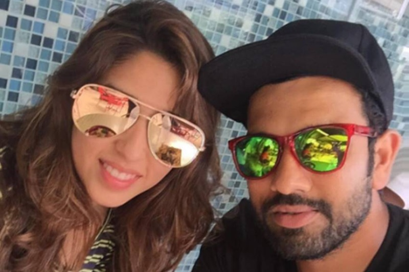 Rohit Sharma and Ritika Sajdeh blessed with baby girl