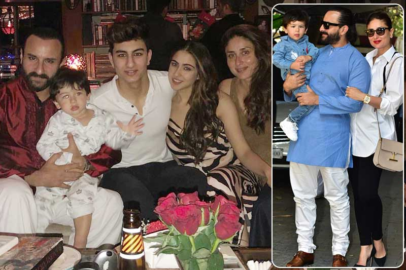 Ranbir, Kareena, Taimur & More at Kapoor Christmas Brunch
