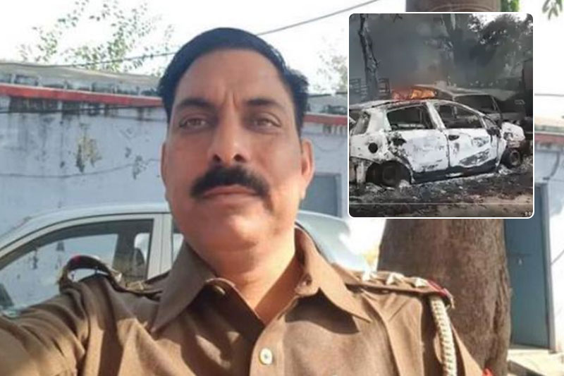 2 arrested, 4 detained for killing Police Inspector in UP mob violence