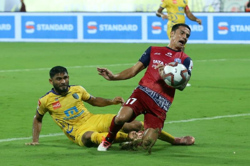 ISL 5 Kerala Blasters extend winless run 1-1 draw Jamshedpur