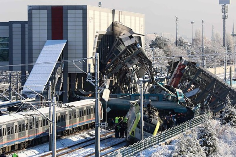 Turkey train crash