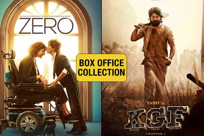 KGF box office collection Day 3: The Yash starrer outshines SRK's Zero