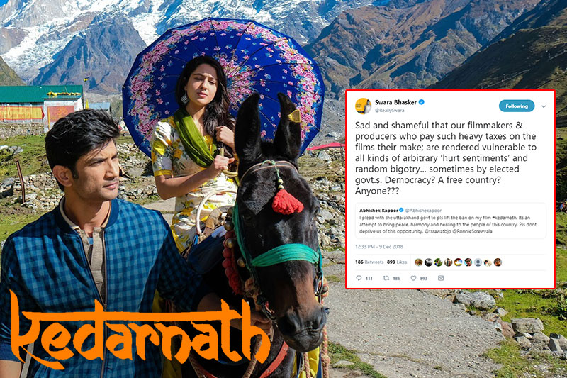 Despite receiving clearance from the government, Kedarnath banned in Uttarakhand!