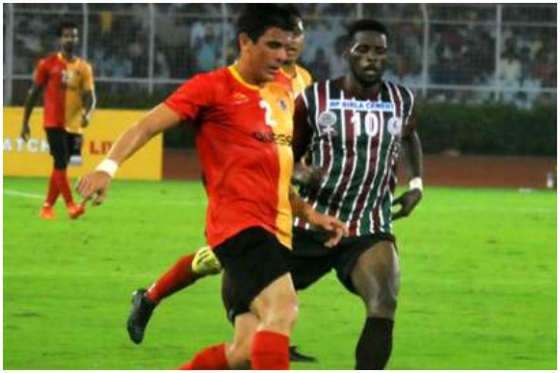 ILeague East Bengal vs Mohun Bagan Kolkata derby