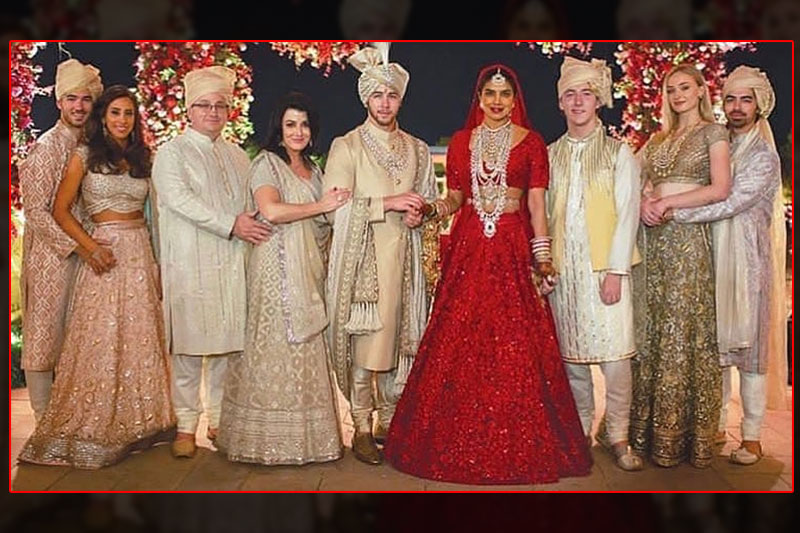 priyanka nick new pic hindu wedding