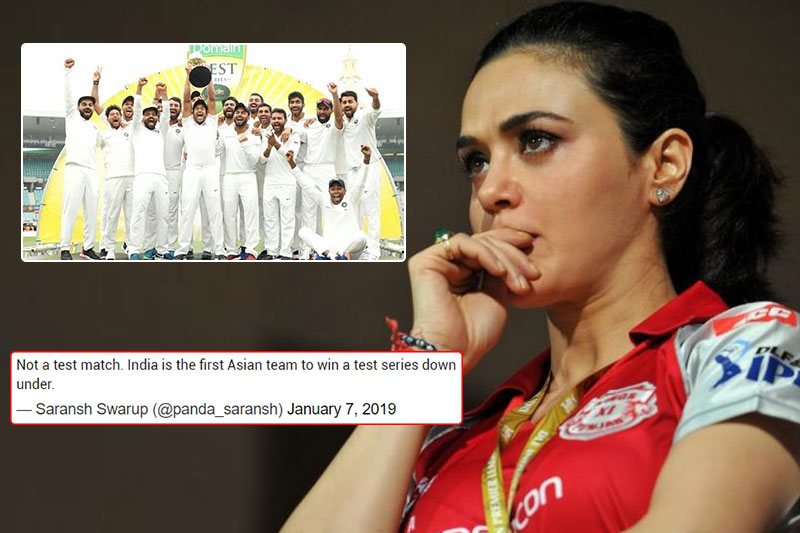 Preity Zinta gets brutally trolled for minor error in congratulatory