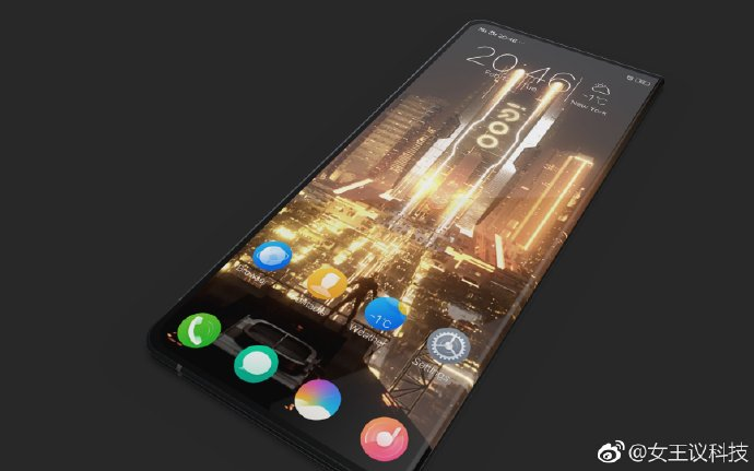 Rumoured IQOO foldable smartphone leaks online