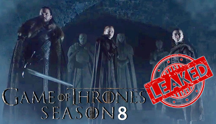 Omg First Episode Of Game Of Thrones Season 8 Gets Leaked By Reddit