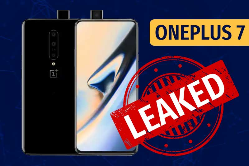 OnePlus 7 Price In India, Specifications, Launch Date and